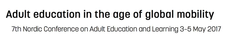 Adult Education in the age of global mobility
