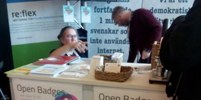 Open Badges presenteras på Internetdagarna 2016.