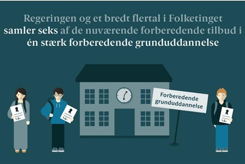 Ny forberedende grunduddannelse for unge optil 25 år