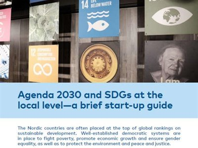 Agenda 2030 and SDGs at the local level—a brief start-up guide