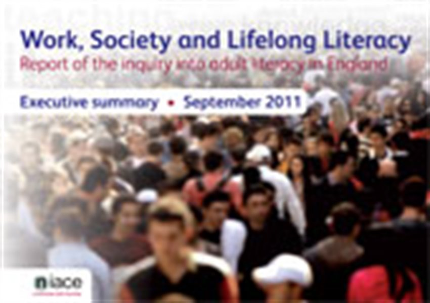 Work, society and lifelong literacy - report of the inquiry into adult literacy in England